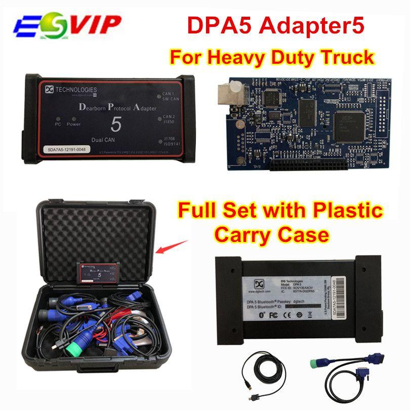 DPA5 Dearborn Portocol Adapter 5 Hochleistungs-lkw-scanner Ohne Bluetooth dpa5 lkw-diagnosewerkzeug dpa 5 lkw-scanner