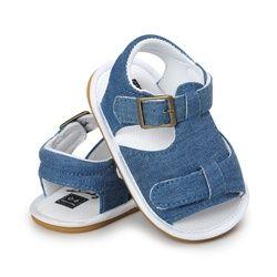 2017 Anak-anak Musim Panas Sandal Anti Slip Crib Sepatu Balita Bayi Laki-laki Perempuan Bernapas Pantai Sepatu