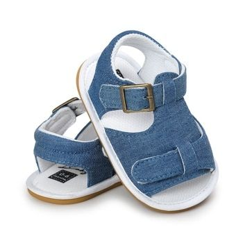 2019 Kids Summer Toddler Baby Boys Girls Breathable Sandals Anti Slip Crib Shoes Beach Shoes