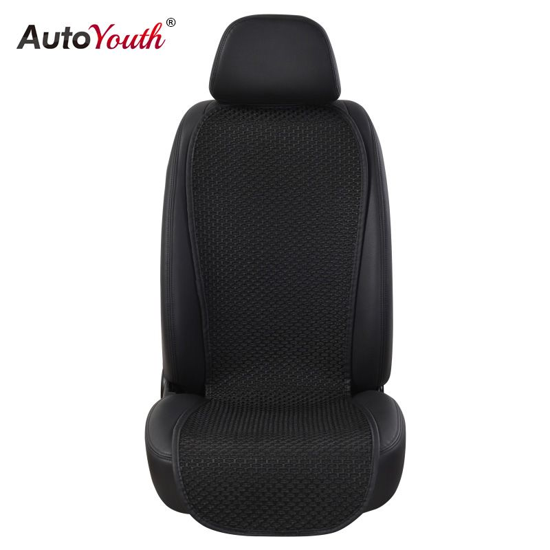 AUTOYOUTH Breathable Ice Silk Small Waistline Seat Cushion Car Pad Universal Cushions Summer Car Seat Cover 4 Colour Car-Styling