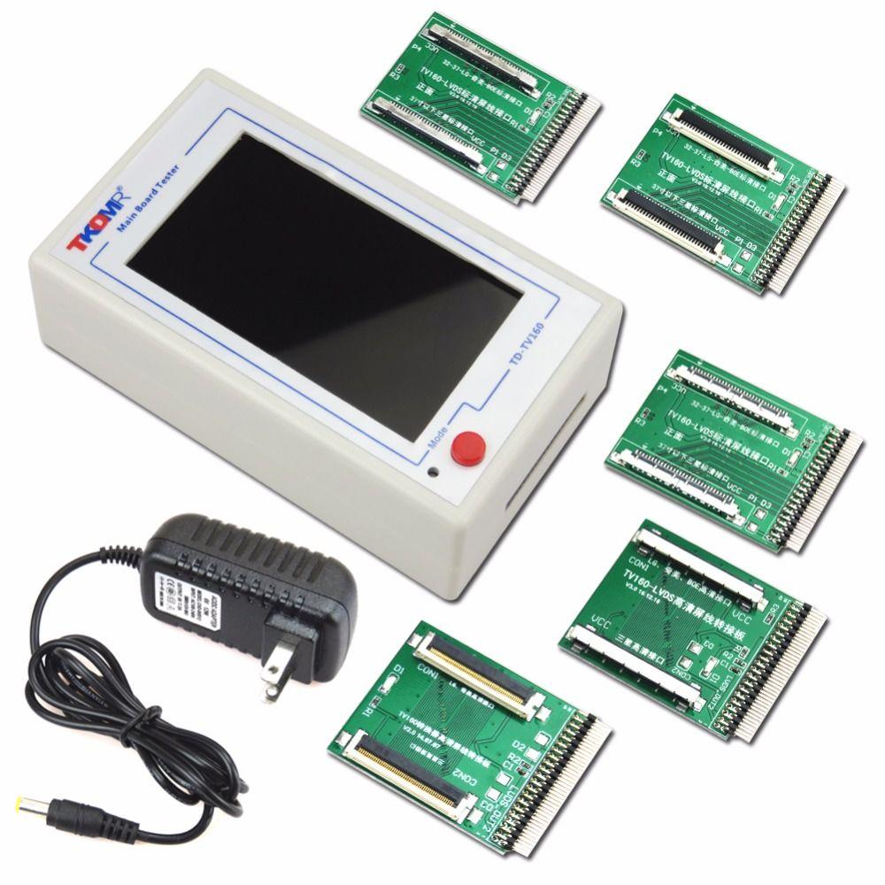 TKDMR TV160 Génération de LVDS Tourner convertisseur vga Avec L'affichage LCD/led TV testeur de carte mère Carte Mère Outil Livraison Gratuite