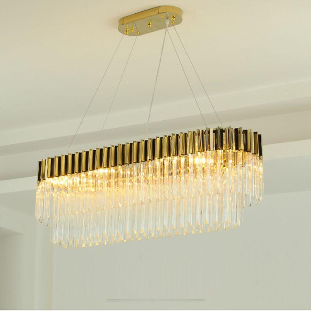 new design luxury crystal chandeliers modern lamp for living room dinning room gold chandelier LED light fixtures
