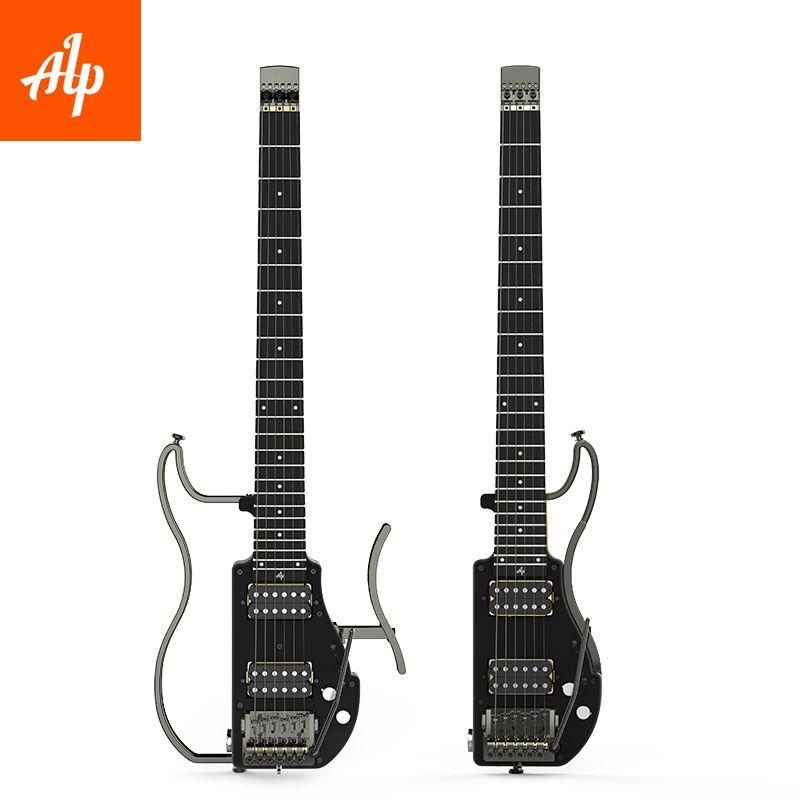 ALP Headless Reise E-gitarre humbucker ADS-201H Ebenholz Griffbrett faltbare gitarre