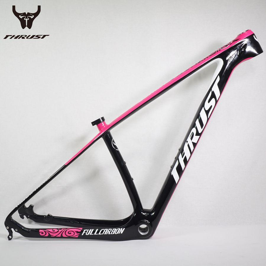 2017 T800 Carbon MTB Frame 29er/27er MTB Carbon Frame 650B 27/29 Carbon Mountain Bike Pink Carbon Frame
