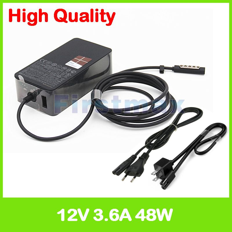 12V 3.6A 45W ac Adapter For Microsoft Surface Pro 1 2 10.6