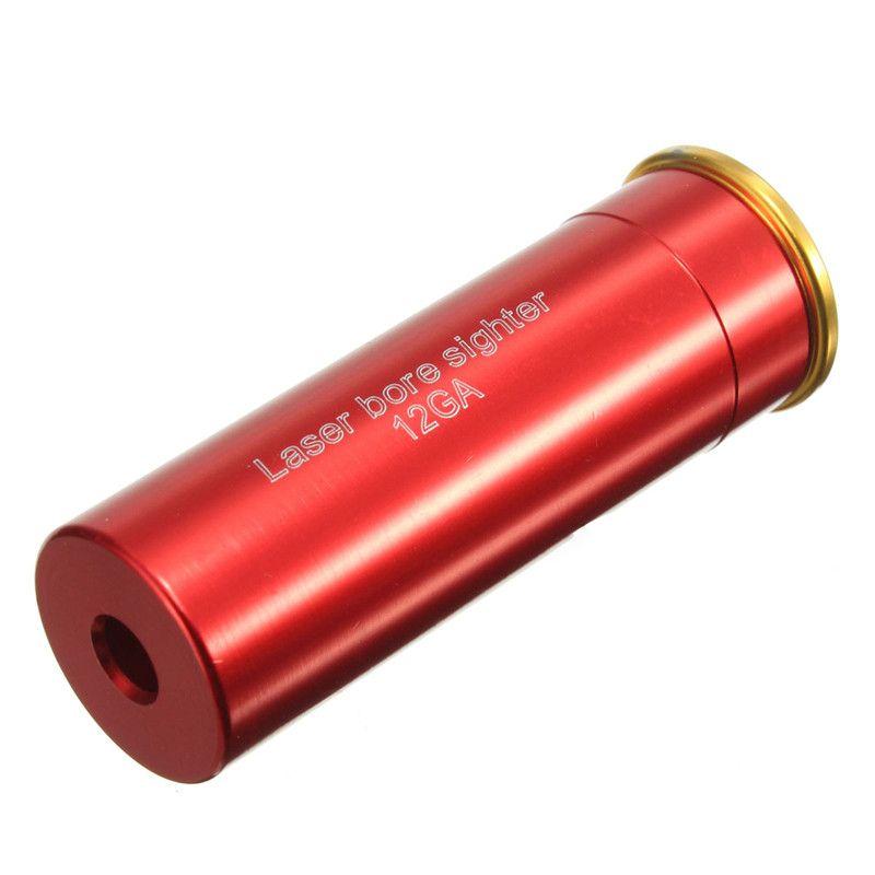 1 stücke Ausgezeichnete Qualität Red Dot Laservisier 12 Gauge Barrel Patrone Für 12GA Caliber Laser Wellenlänge 635-655nm