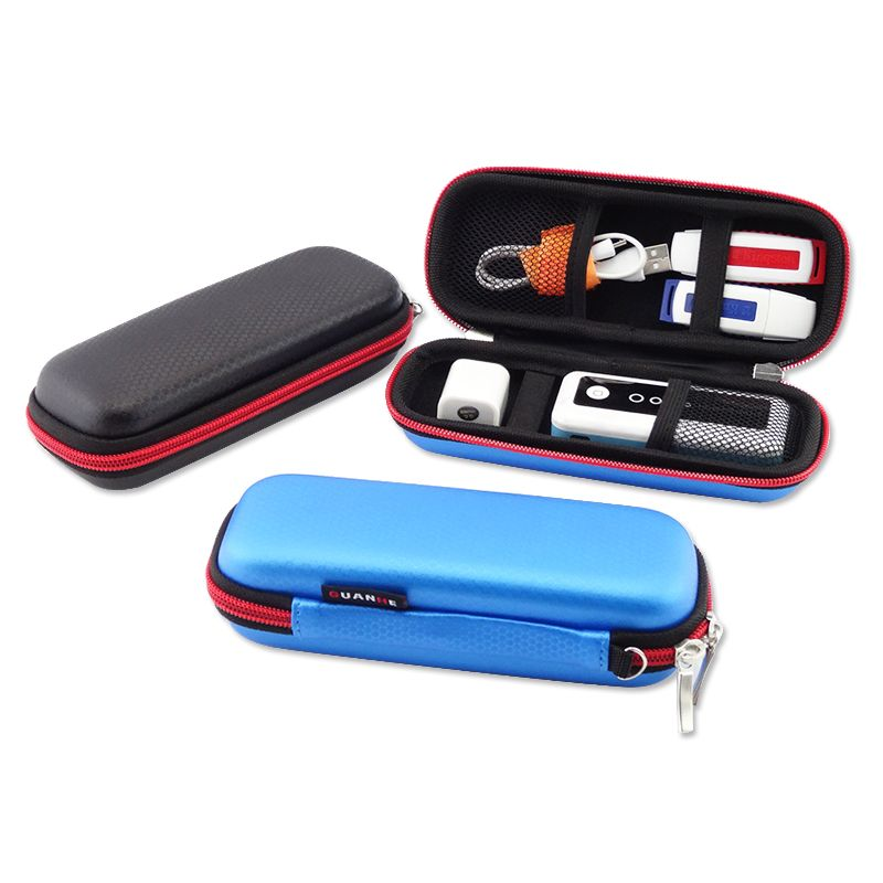 Sac de rangement Portable Rectangle carré numérique accessoires de voyage pour écouteurs, disque U, câble USB, chargeur, Mini poche Gadget