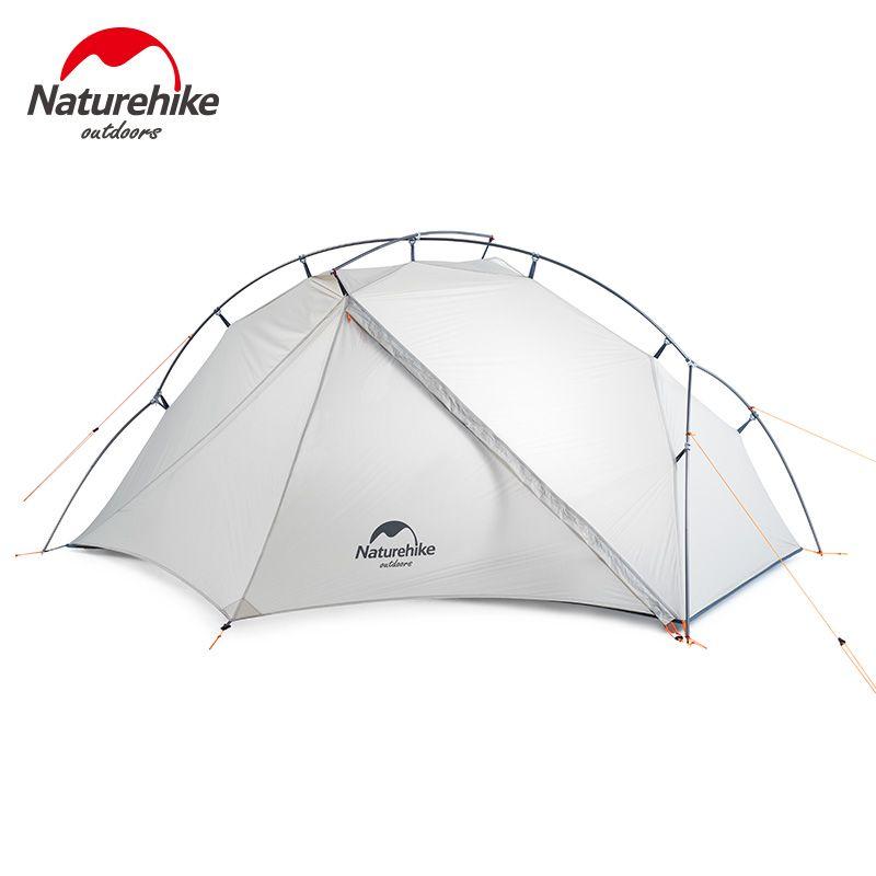Naturehike VIK Serie Outdoor single tent ultra light 0.93kg 15D nylon camping hiking snow rainproof portable aluminum tent