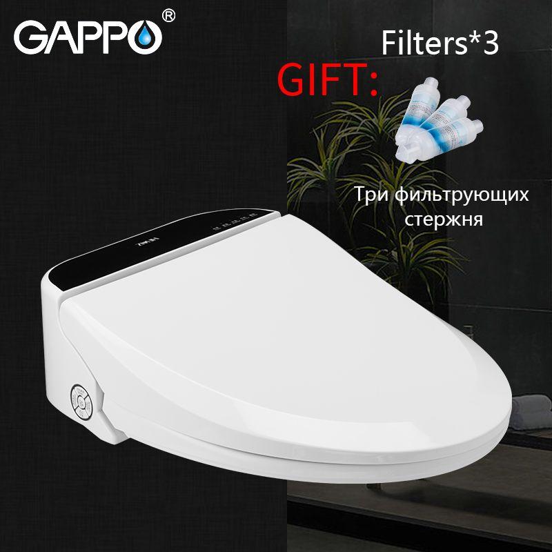 GAPPO Smart Wc Sitze Längliche bidet Deckel Smart Bidet Wc Sitze intelligente Sauberen, Trockenen Wc abdeckung dusch-wc abdeckung erhitzt