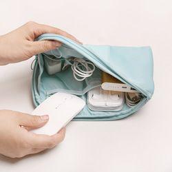 Mujeres viaje negocios embalaje cubos cargador Digital accesorios paquete organizador bolsa de lona para los hombres saco para viagem