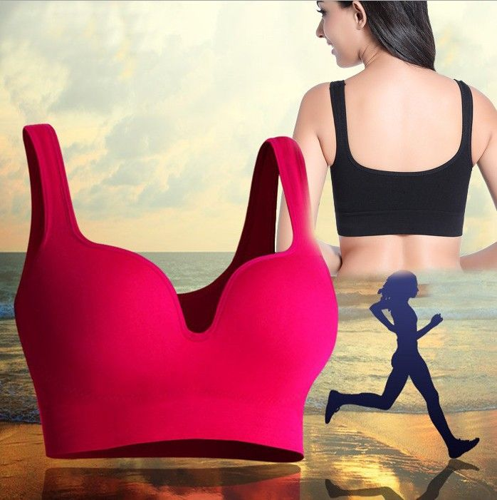 5 Colors M-XL Women Seamless 3/4 Cup Wire Free Soft Breathable 3D Bra Female Modal Comfortable Vests Tops Sleeping Intimates