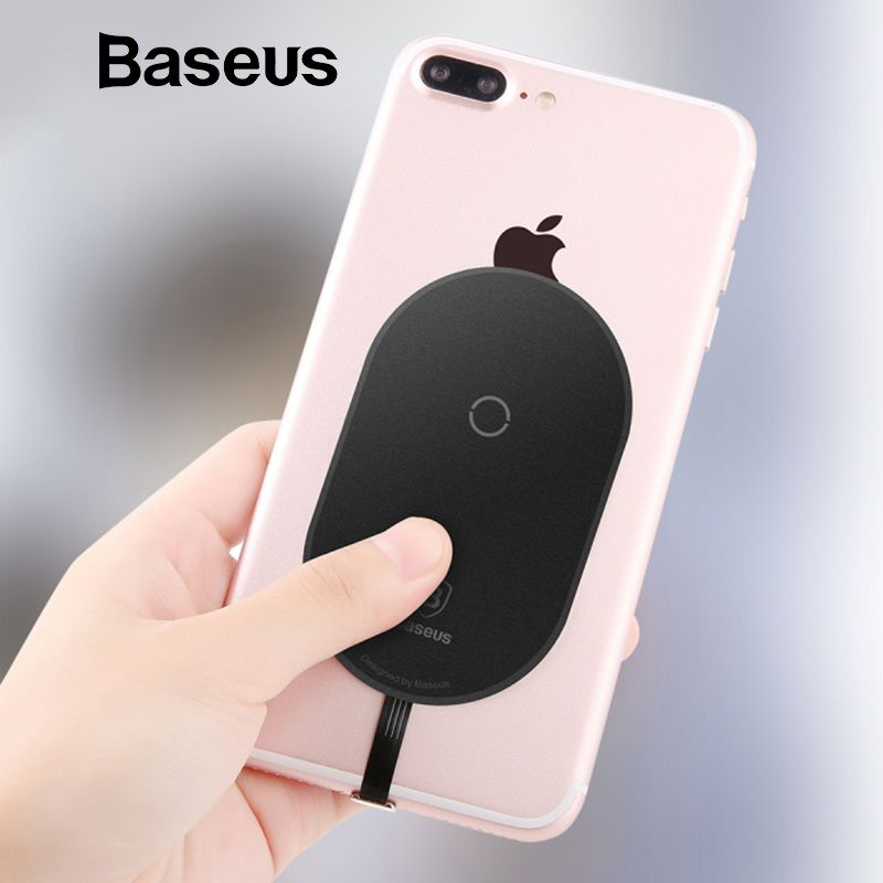 Baseus QI Wireless Charger Receiver For iPhone 7 6 5 Samsung a5 7 Wireless Charging Receiver For Xiaomi 5 6 Redmi 4x oneplus lg