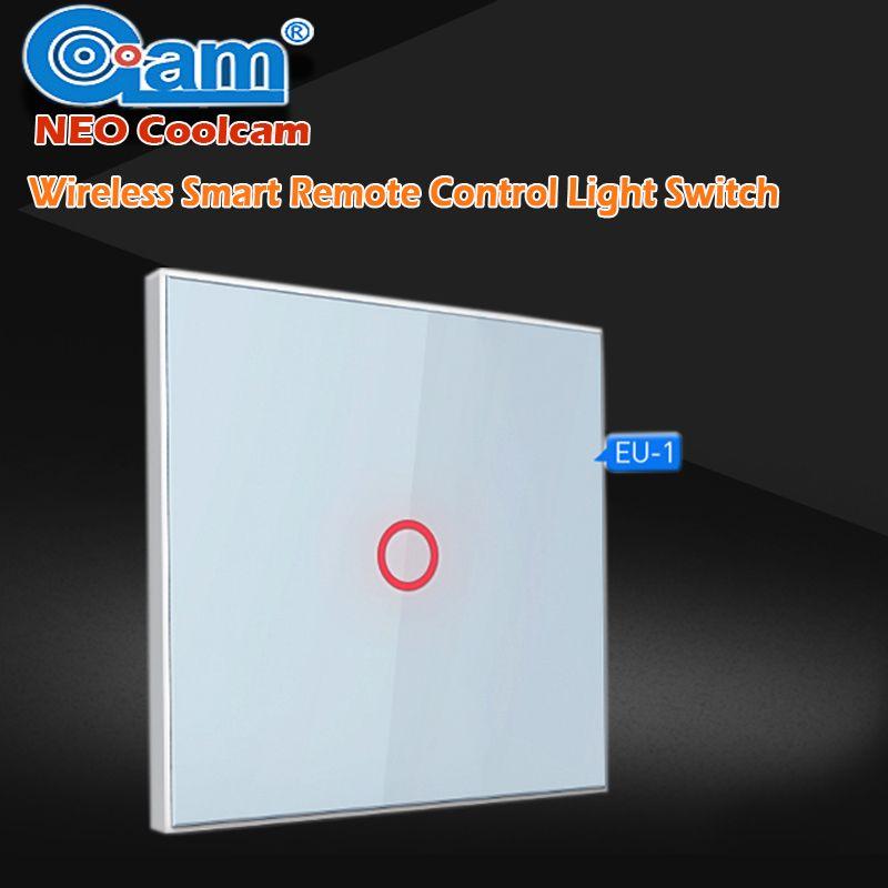 NEO COOLCAM Una Cuadrilla de LA UE z-wave Smart Home Pared Luz interruptor de Luz de Control Remoto Inalámbrico Inteligente Domótica Z interruptor