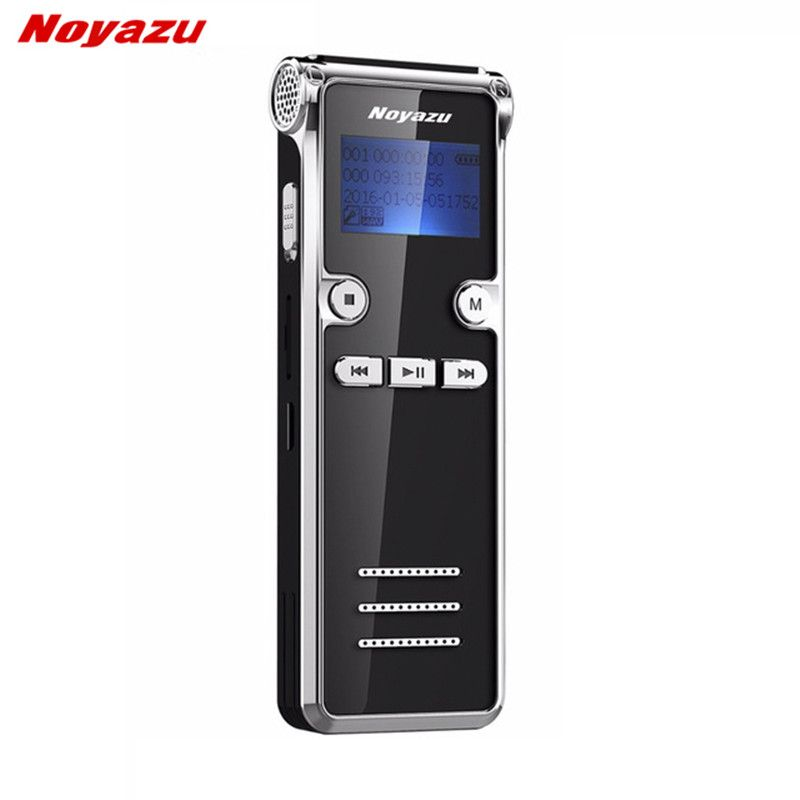 Noyazu 906 8G Mini Digital <font><b>Voice</b></font> Recorder Long time 600 Hours Recording Long standby Ditaphone Professional MP3 player
