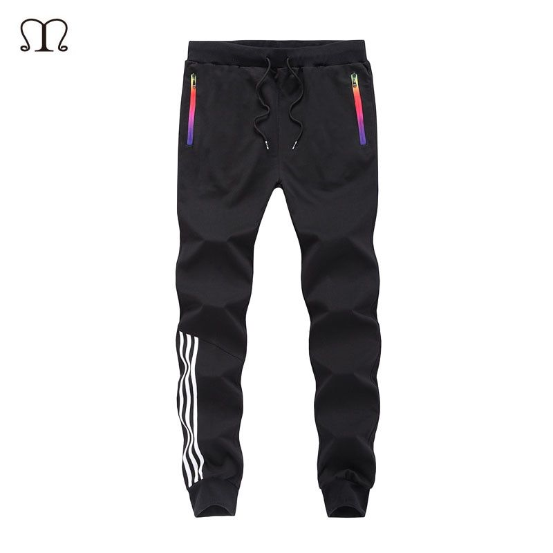 Spring Casual Men Sweat Pants Male Cotton Sportswear Casual Trousers Straight Pants Hip Hop High Street Trousers Pants joggers