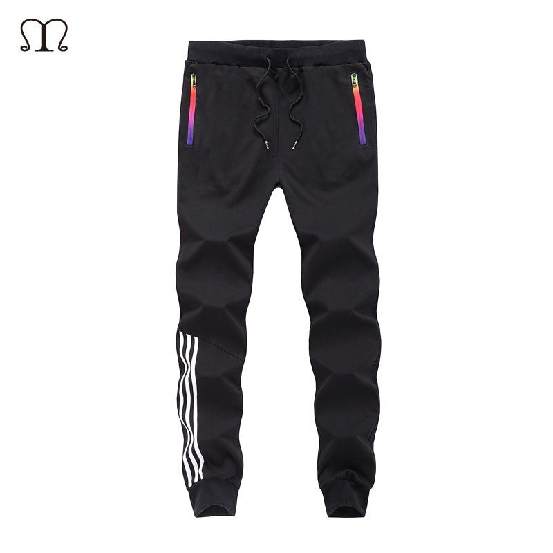 Spring Casual Men Sweat Pants Male Cotton Sportswear Casual <font><b>Trousers</b></font> Straight Pants Hip Hop High Street <font><b>Trousers</b></font> Pants joggers