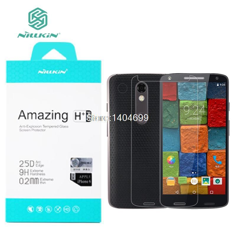 Nillkin Screen Protector For MOTO X Force Amazing H+Pro sFor MOTO X Force Tempered Glass for MOTO X Force Glass