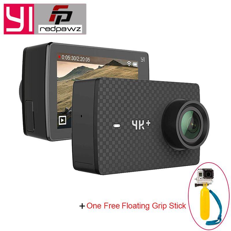 Original YI 4K Plus Action Camera 2.19' Ambarella H2 for SONY IMX377 12MP 155 Degree 4K Ultra HD for Xiaomi YI 4K+ Sports Camera