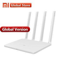Versión Global Xiao mi WIFI Router 3 4 antenas WiFi 1167 Mbps 802.11ac/b/g/n WIFI doble banda 2,4g/5g soporta APP