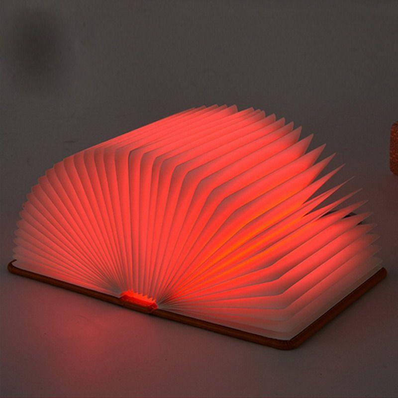 NEW Hot Lumio-Style LED Folding Book Lamp 4 Colors Light Innovative Gift WA903