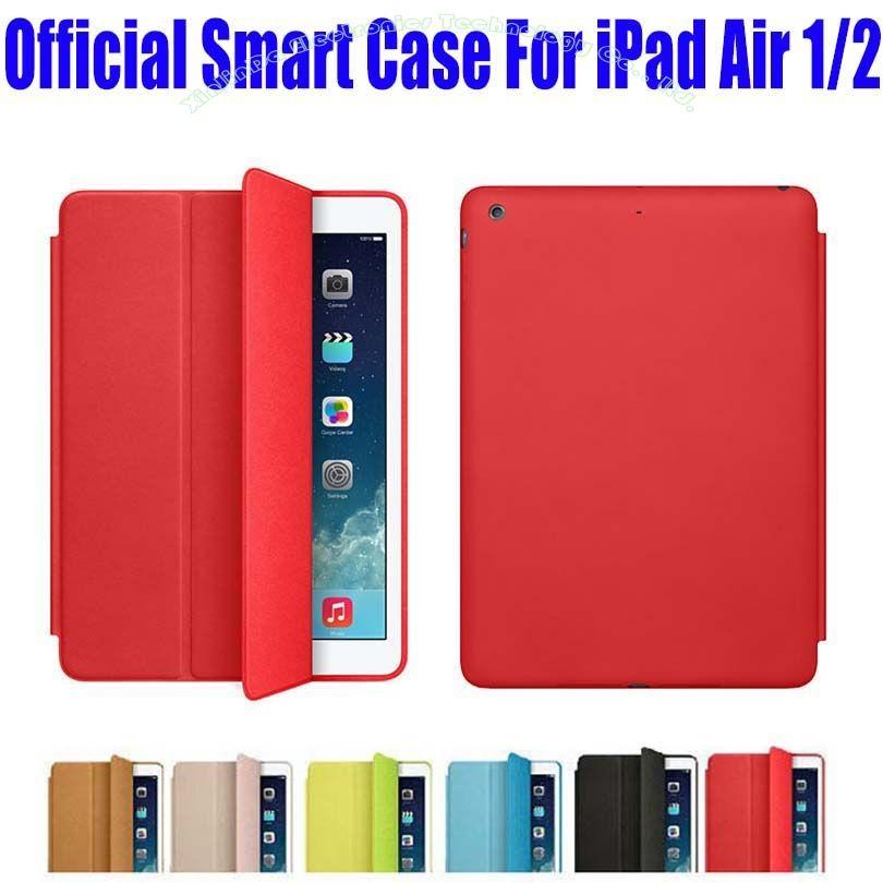 Étui intelligent en cuir PU pour Apple iPad Air 1 2 étui pour iPad 6 + Film d'écran NO: I607