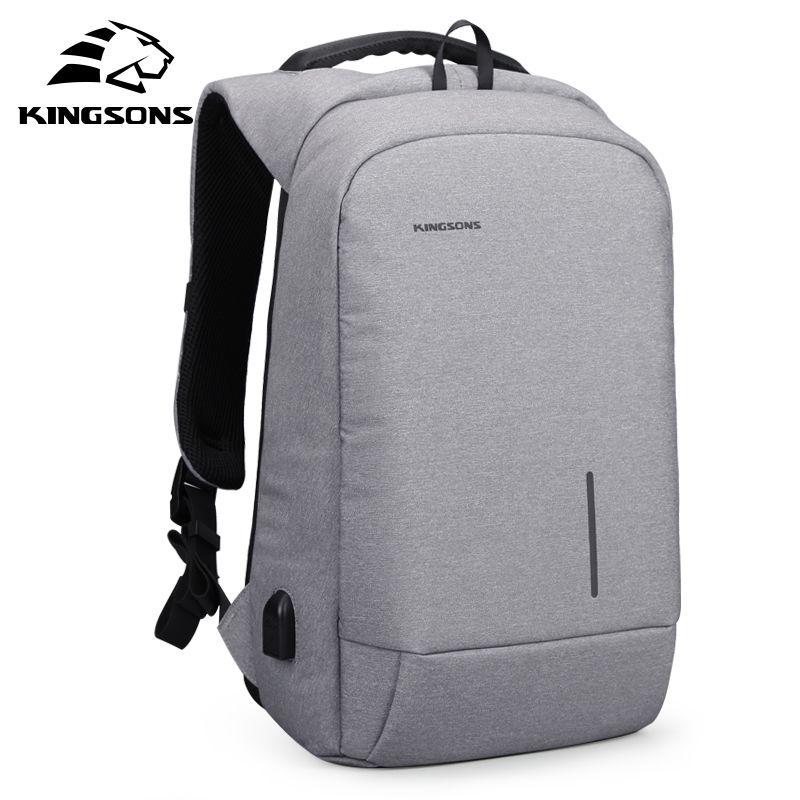 Kingsons 2018 Laptop Anti Theft Men Backpack Best Trave Bag Password Lock Backpack Male New Business Mochila Bagpack Pack Design