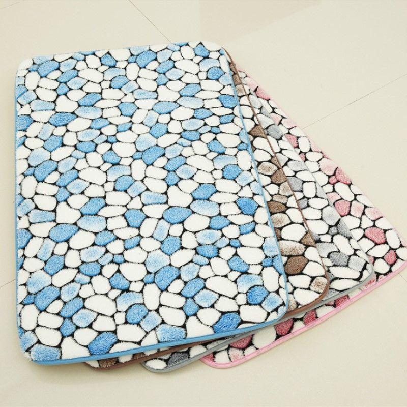1 pc Memory Foam tapis de bain absorbant Pad Paillasson paillasson Pad antidérapant Salle De Bains Douche Tapis De Bain