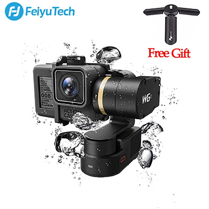 FeiyuTech Feiyu FY WG2 3-Axis Wearable Waterproof Gimbal for GoPro Hero 5 4 Session PK FY MINI Handheld Gimbal Stabilizer