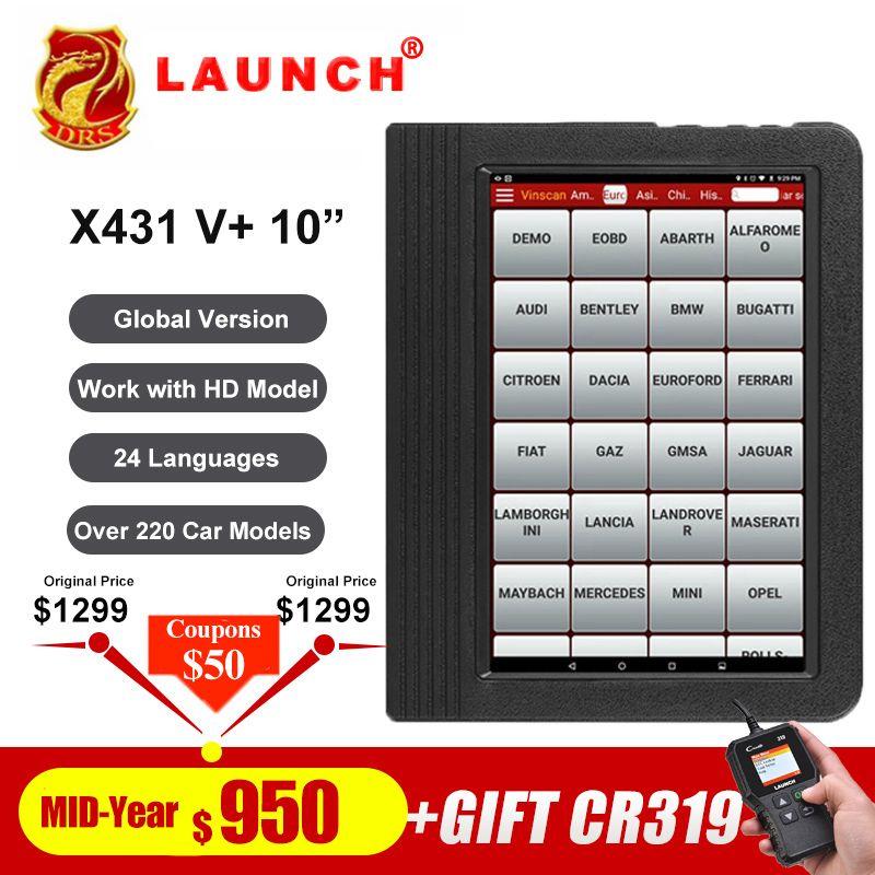 Starten X431 V plus 10