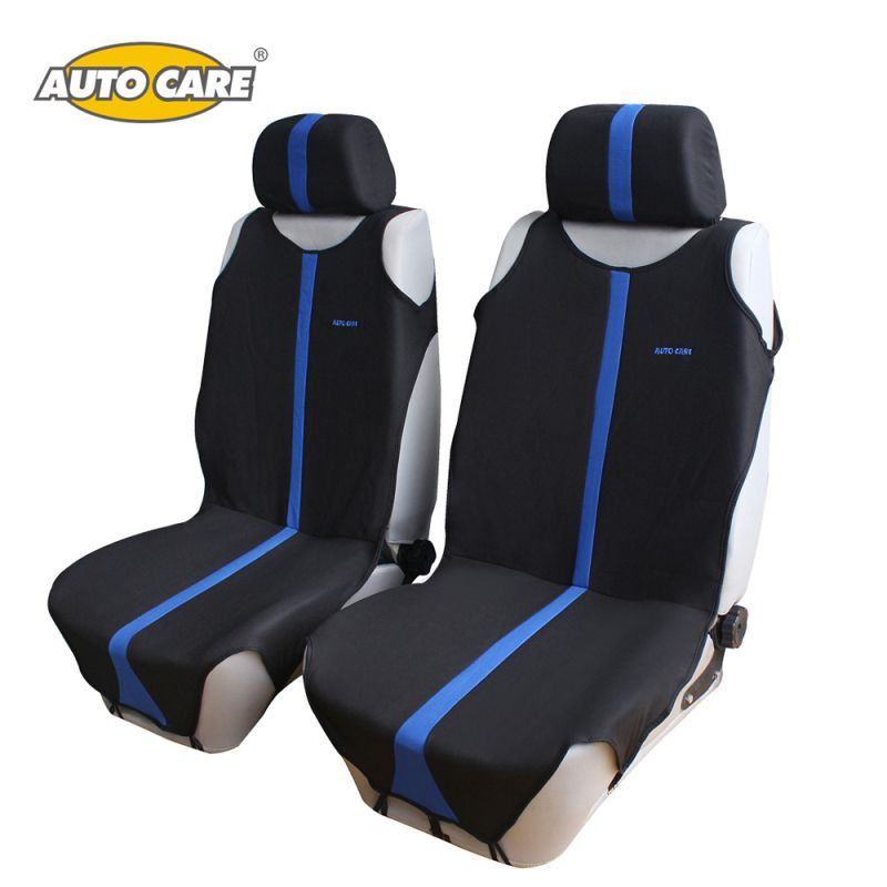 Auto Care T shirt Design 2pcs Front Car Seat Covers Universal Fit Auto Seat Protector 3 Colors For Choice Interior Accessories