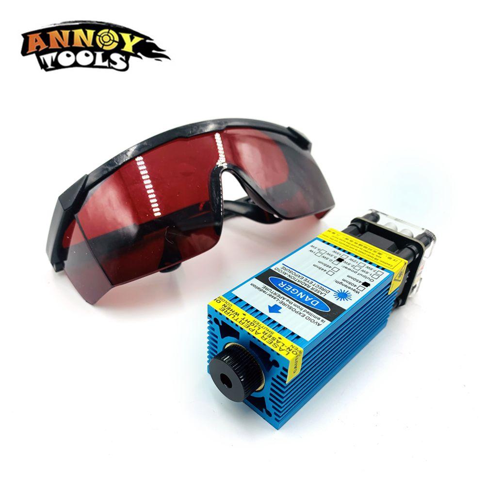 3500 mw 450nm fokussierbar blau Laser Modul Laser Stecher teil DIY Laser Kopf mit PWM