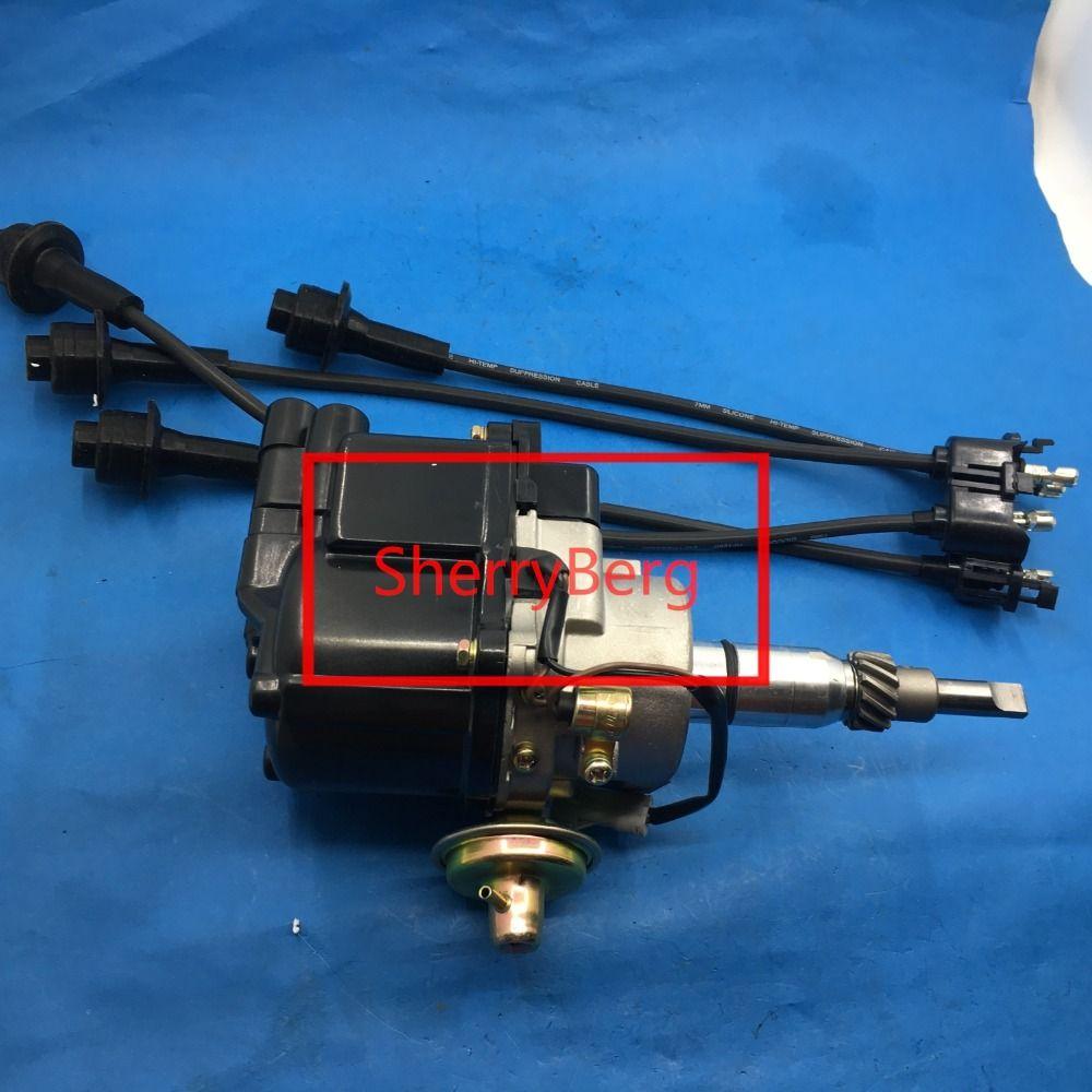 Brand new DISTRIBUTOR fit TOYOTA ELECTRONIC CARBURETTOR ENGINE 2 VAC ADVANCE 1Y 2Y 3Y 4Y