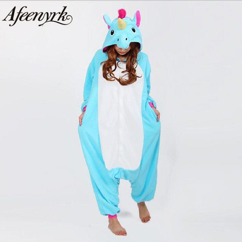 Afeenyrk Единорог женские мягкие удобные пижамы комплект пижамы домашней одежды пижамы унисекс домашняя одежда для девочек/мальчиков/пижамы д...