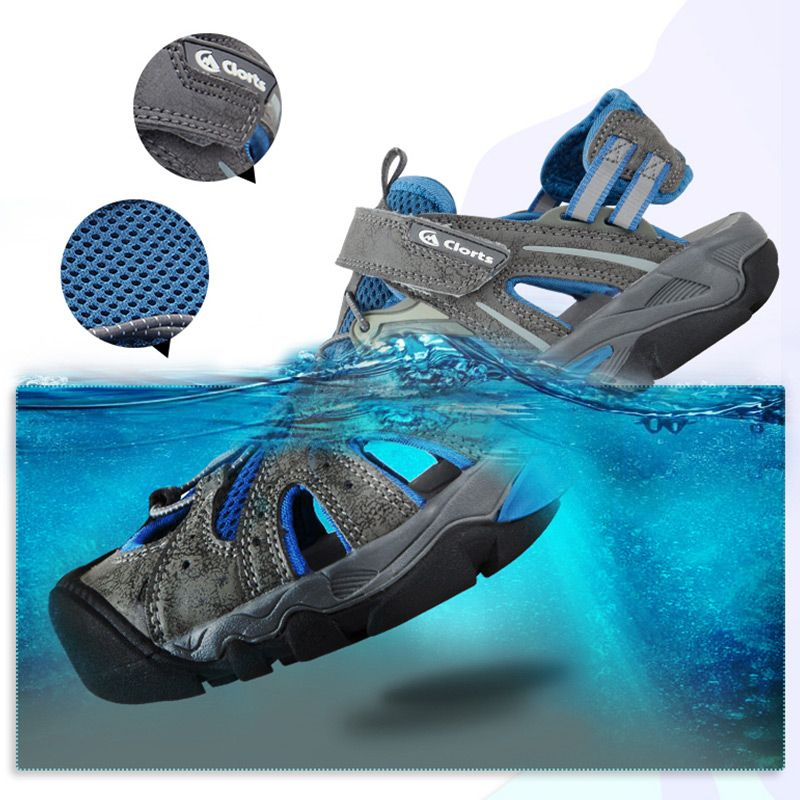 Clorts Men Beach Shoes Quick-drying Sneakers Breathable Sandals for swimming Aqua Shoes SD-207C