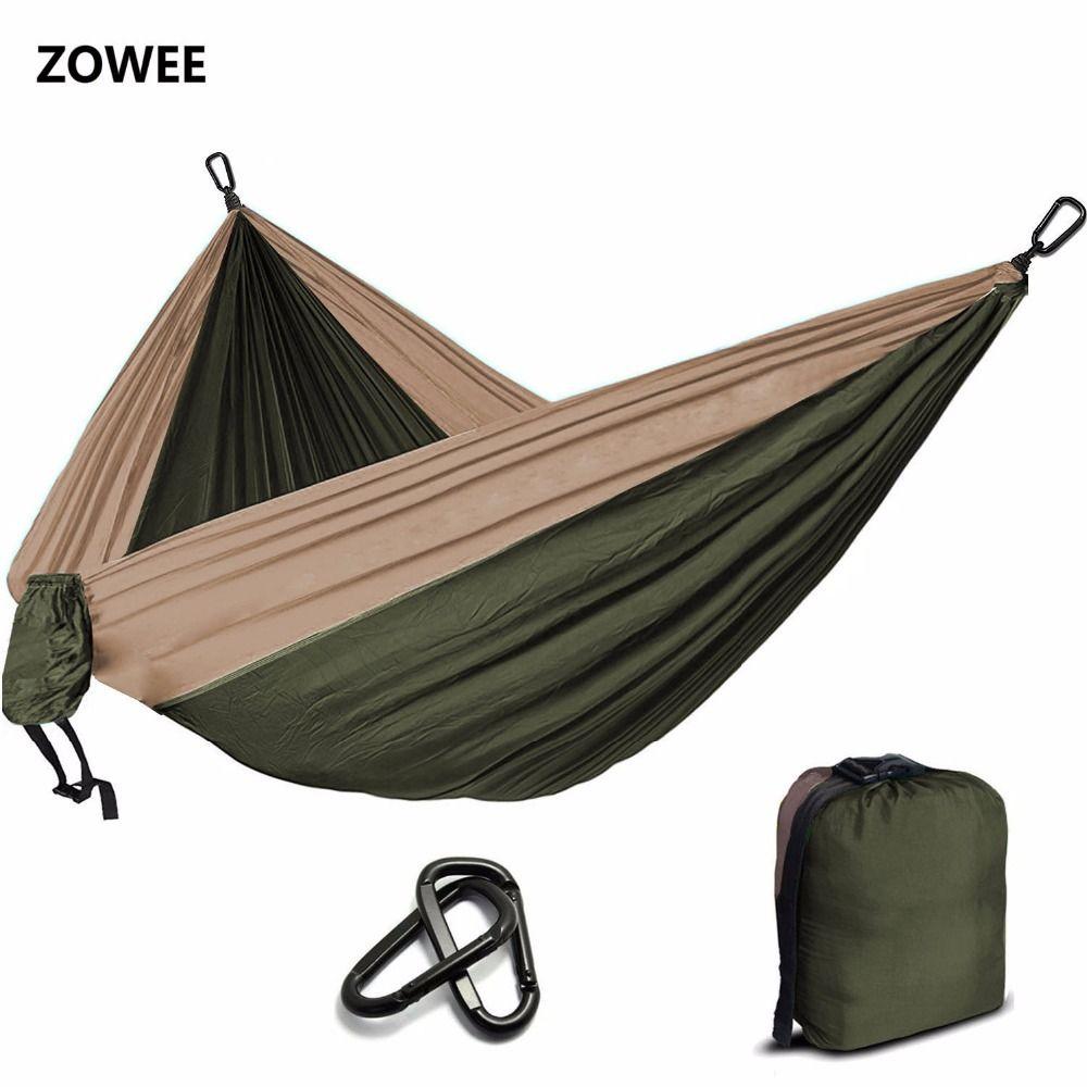 Camping Parachute hamac survie jardin extérieur meubles loisirs dormir Hamaca voyage Double hamac