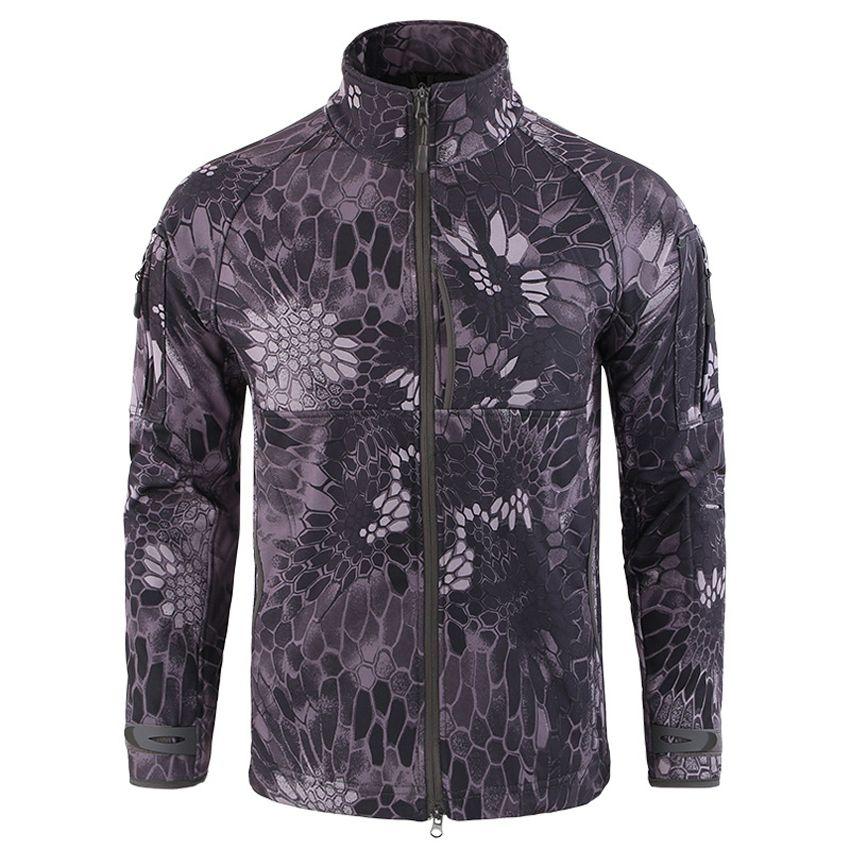 Men's New Military Tactical Jackets Fashion Fleece Soft Shell Jaqueta Camouflage Casual Windbreaker Male Brand Clothing LA644
