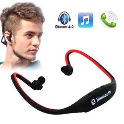 Hot Sports Bluetooth Earphone Wireless Portable Neckband Bluetooth Headset Sports Stereo Earphone earphones For iphone Huawei