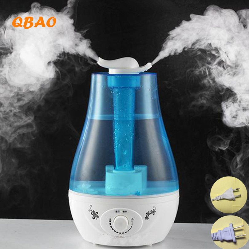 2.6L Ultrasonic Air Humidifier Aroma Oil Diffuse 25W 110-240V LED Light Humidifier Aromatherapy Diffuser Ultrasonic Mist Maker