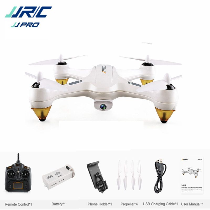 JJRC JJPRO X3 HAX Brushless Doppel GPS WIFI FPV w/1080 P HD kamera RC Drone Quadcopter Spielzeug RTF VS Eachine EX1 Hubsan H501S H502E