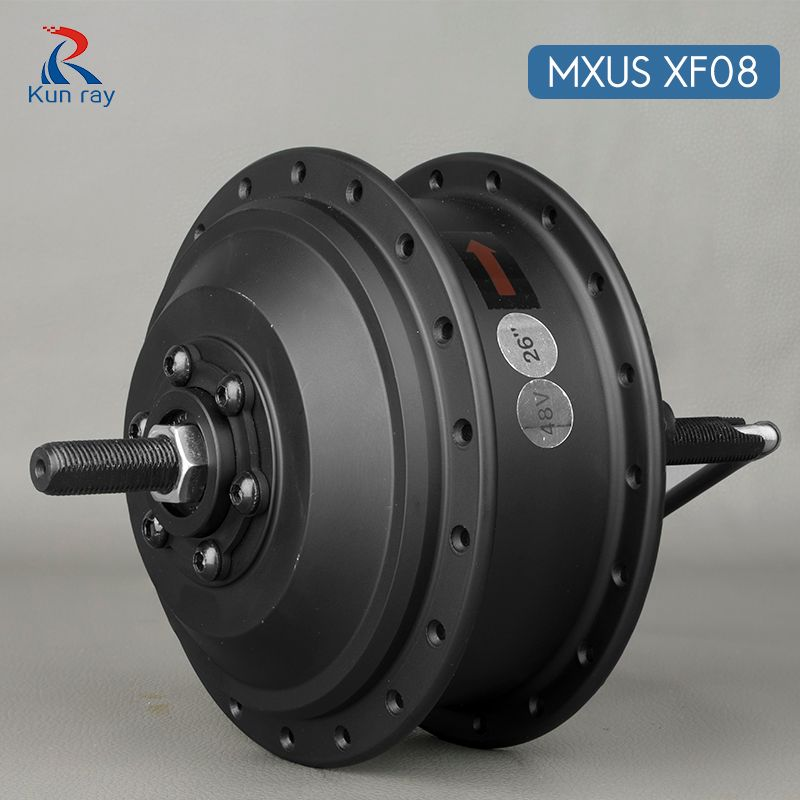 Hub Motor scooter MXUS XF08 250W Brushless Gear Motor DC 24V 36V 48V electric bicycle rear wheel motor for 16-28