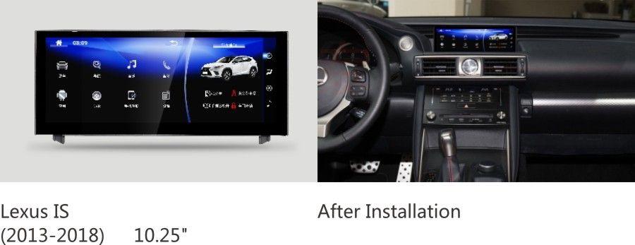 NAVIRIDER navigation 10,25 bildschirm octa core android 7.1 Kopf Einheit für Lexus IST 250 IS200t, IS300h, IS200, IS250, IS300, IS350