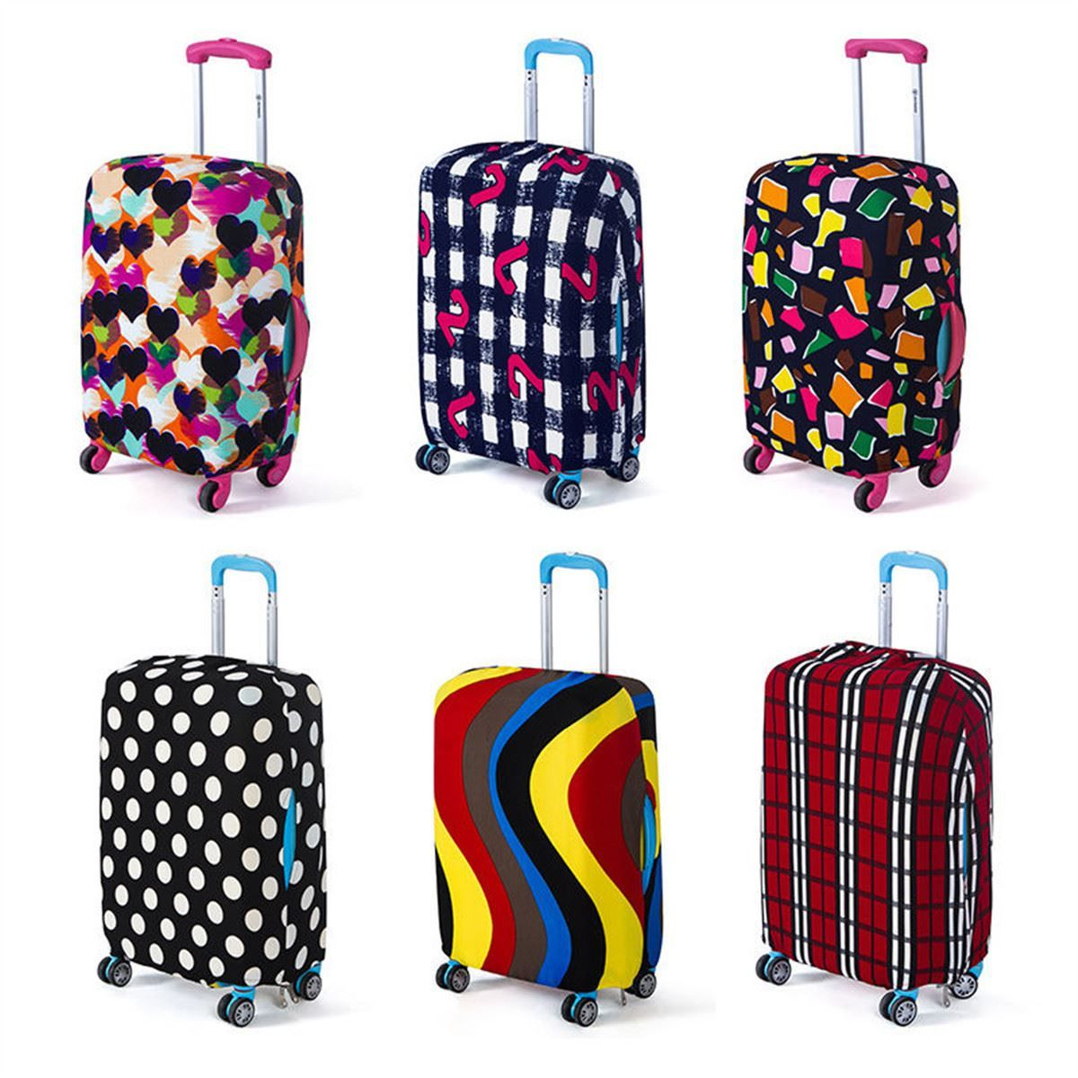 Travel Luggage Cover Protective Suitcase cover Trolley case Travel Luggage Dust cover for 18 to 20inch Bag Accessories