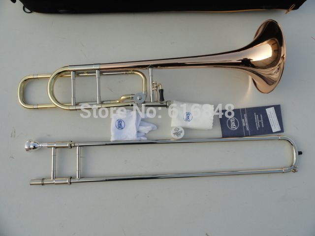 Professional Musical Instrument Bb Tenor Trombone For Students The Replication 42BO Superior Sandhi Tenor Trombone With Case