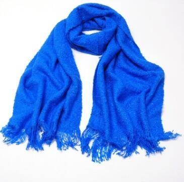 Новые однотонные Цвет шарф оптовая продажа осень-зима однотонный корейский шарф Потепление шарф