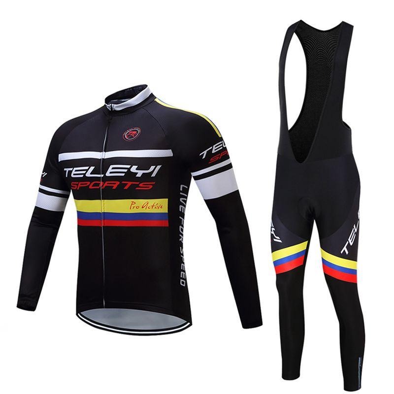 Men's cycling jersey winter thermal fleece 2018 Pro bicycle clothing maillot mtb mountain bike jersey skinsuit shirt long jacket