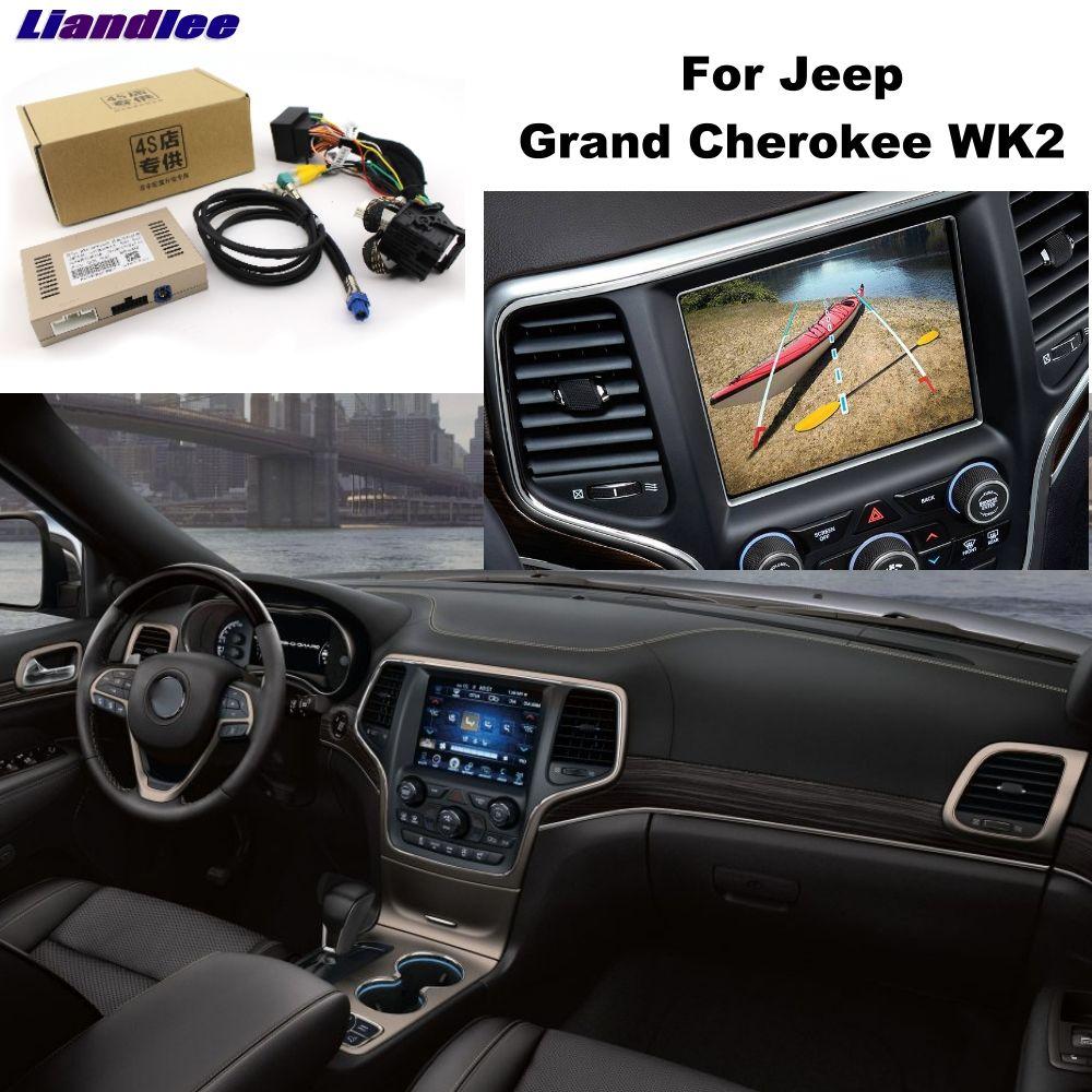 Liandlee Parkplatz Kamera Interface Umge Back Up Park Kamera Kits Für Jeep Grand Cherokee WK2 Original Display Verbesserte