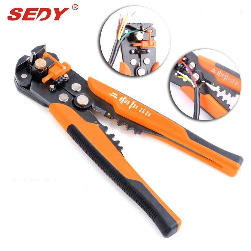 Hohe Qualität Multifunktionale Kabel Abisolierzange Zange Cutter Crimper Automatische Multifunktionale Crimpen Abisolieren Zange Werkzeuge