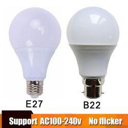 Real Power Led-lampe E27 LED Lampada Ampulle Bombilla 3 W 5 W 7 W 9 W 12 W 15 W B22 LED Lampe 220 V Kalt/Warm Weiß Led Scheinwerfer