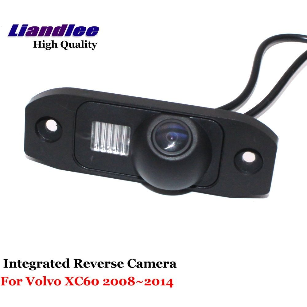 Liandlee For Volvo XC60 2008~2014 Car Rearview Reverse Camera Backup Parking Rear View Camera / Integrated SONY CCD HD