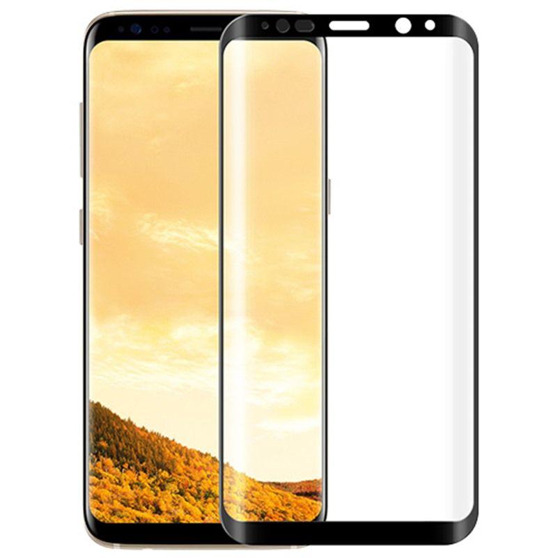 HD Tempered Glass for Samsung S8 Japan Ashahi Screen Protector 0.26 Mm 3D Full Nano PET Screen Glass Film Free Shipping